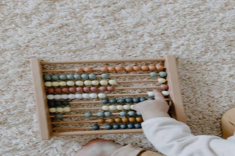 how to make a model of abacus for kids